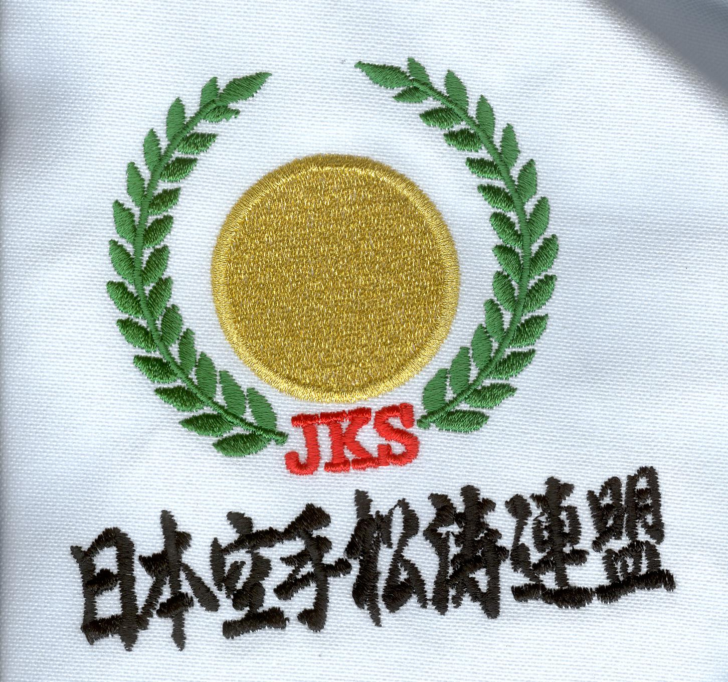 Hirota JKS Chest embroidery